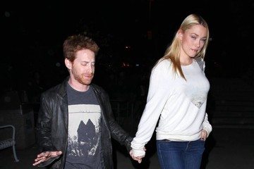 Claire Grant Seth Green & Claire Go To The Lorde Concert