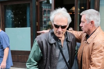 Clint Eastwood Clint Eastwood Leaves His New York Hotel