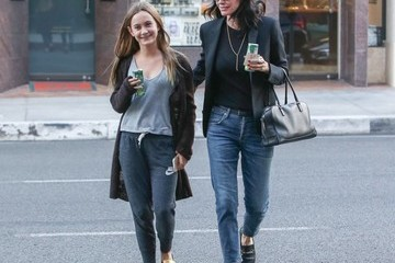 Coco Arquette Courteney Cox and Coco Arquette Go Out and About in Los Angeles