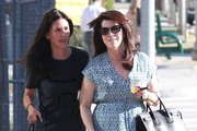 Courteney Cox Out With A Friend In West Hollywood