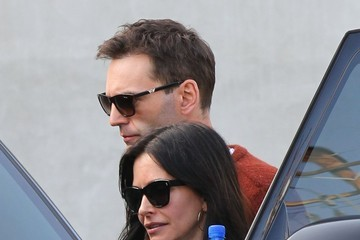 Courteney Cox Courteney Cox & Johnny McDaid Leaving Maxfield