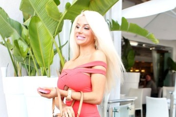 Courtney Stodden Courtney Stodden Out For Lunch