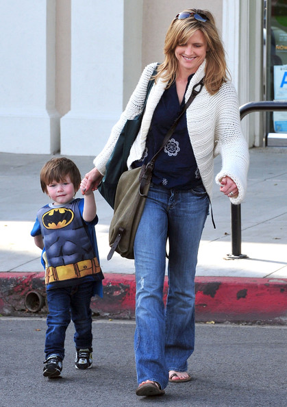 Image: Courtney Thorne-Smith with Jake