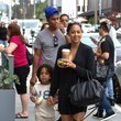 Cree Hardrict Tia Mowry Out in Beverly Hills With Her Family