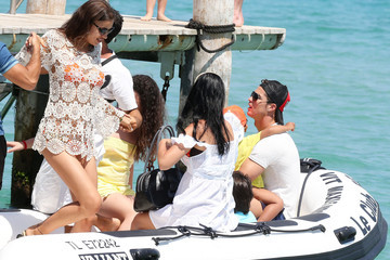 Cristiano Ronaldo Cristiano Ronaldo And Son On Holiday With Irina Shayk In St. Tropez
