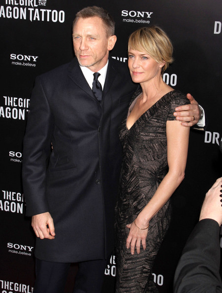 Robin Wright Girl With Dragon Tattoo Daniel Craig an...