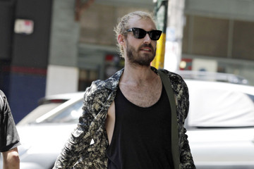 Daniel Johns Daniel Johns Out With A Friend In Surry Hills
