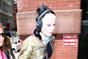 Daphne Guinness Daphne Guinness Out and About in NYC