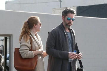 Darren Le Gallo Amy Adams and Darren Le Gallo Go Out Shopping in Beverly Hills