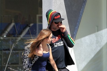 David Arquette Coco Arquette David Arquette Takes His Daughter Shopping In Beverly Hills