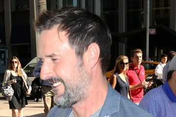 David Arquette Celebs Get Sirius in NYC