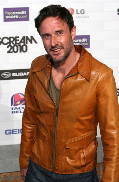 "David Arquette Celebrities at Spike TV's ""Scream 2010"" at the Greek Theater in Los Angeles, CA."