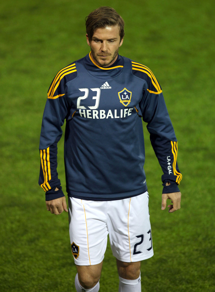 David Beckham Photos Photos - David Beckham And The LA ...