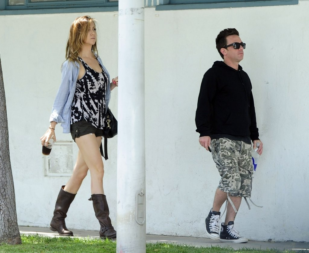 David Faustino in David Faustino Gets Lunch with His ... David Faustino Wife