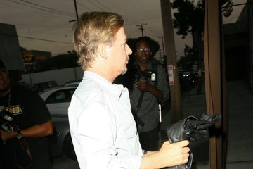 David Spade Celebs Dine Out At Craigs