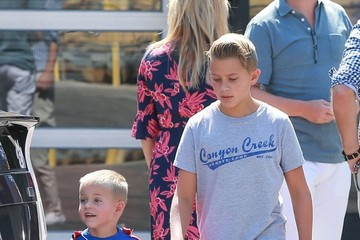 Deacon Phillippe Reese Witherspoon And Family Head To Church