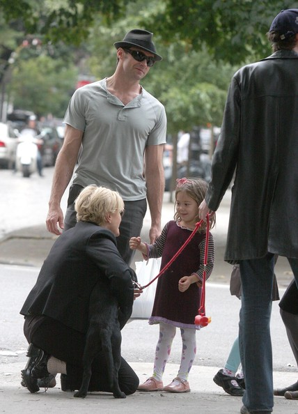 Deborra-Lee Furness - Hugh Jackman And Family Out In New York City