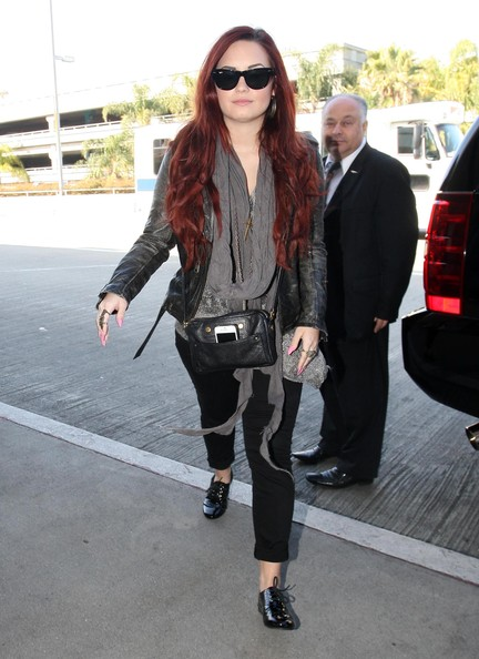 Demi Lovato Outfits 2012