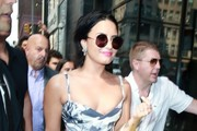Demi Lovato Steps out in New York