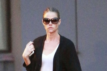 Denise Richards Denise Richards Visits the Hair Salon