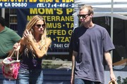 Denise Richards & Her Nephew Stop By The Farmers Market