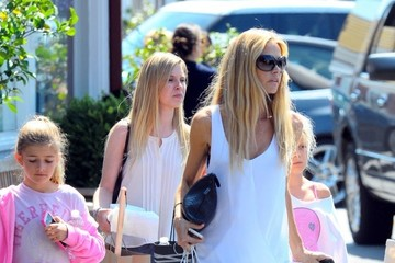 Denise Richards Sam Sheen Denise Richards Out with Her Daughters