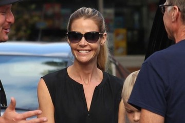 Denise Richards Denise Richards Takes Her Family Out For Lunch