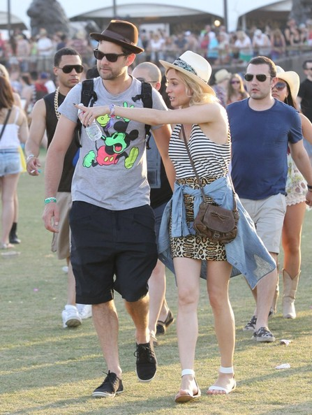 Celeb Sightings at Coachella: Day 2 []
