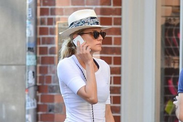 Diane Kruger Diane Kruger Leaves the Gym