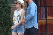 Diane Kruger and Joshua Jackson Leaves the Bowery Hotel