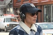 Diane Kruger Walks Through NYC's East Village
