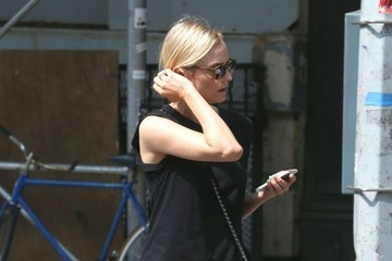 Diane Kruger Joshua Jackson and Diane Kruger Out in NYC
