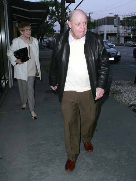 Don Rickles Wife Don rickles and wife barbara out for dinner at madeo