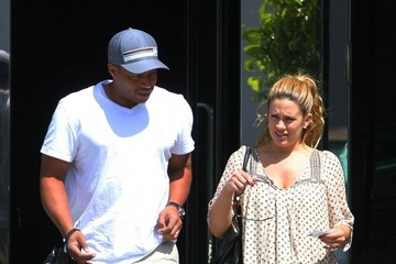 Donald Faison Donald Faison and CaCee Cobb Shop in LA