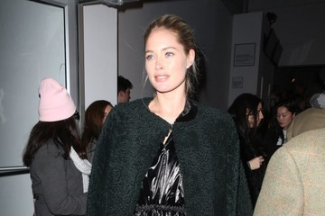 Doutzen Kroes Celebrities Leave The Oscar de la Renta Show In NYC