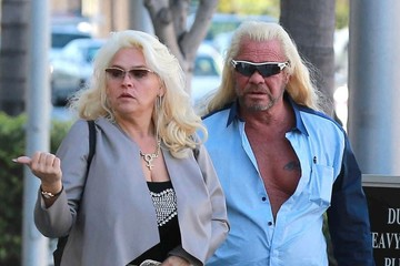 Duane Chapman Duane and Beth Chapman Go Out for Lunch in Beverly Hills