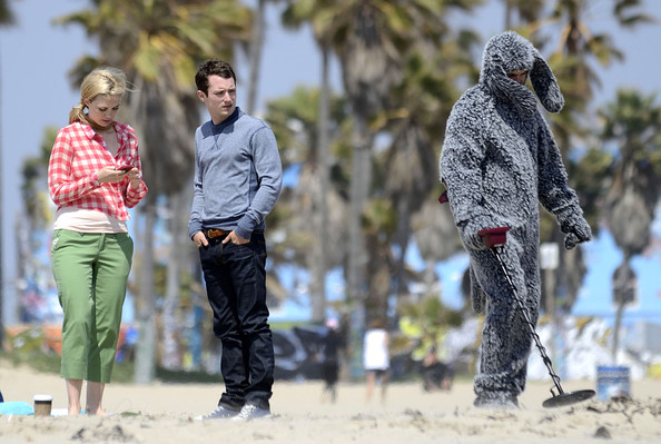 Stars On The Set Of 'Wilfred' In Venice Beach