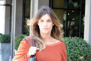 Elisabetta Canalis Elisabetta Canalis Lunches With a Friend