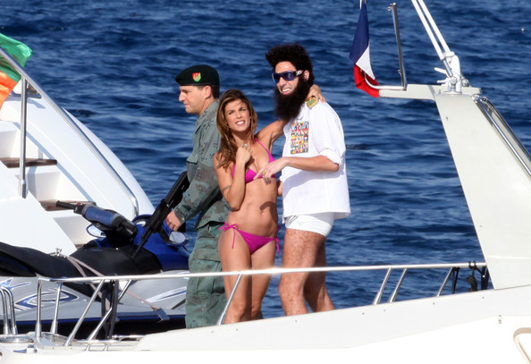 Image result for borat on yacht image