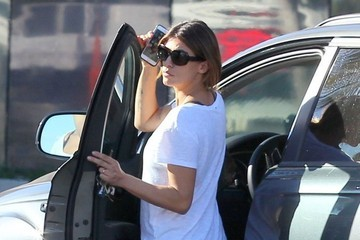Elisabetta Canalis Elisabetta Canalis Goes out Shopping at The Grove