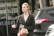 Elle Fanning Hits The Gym For A Workout