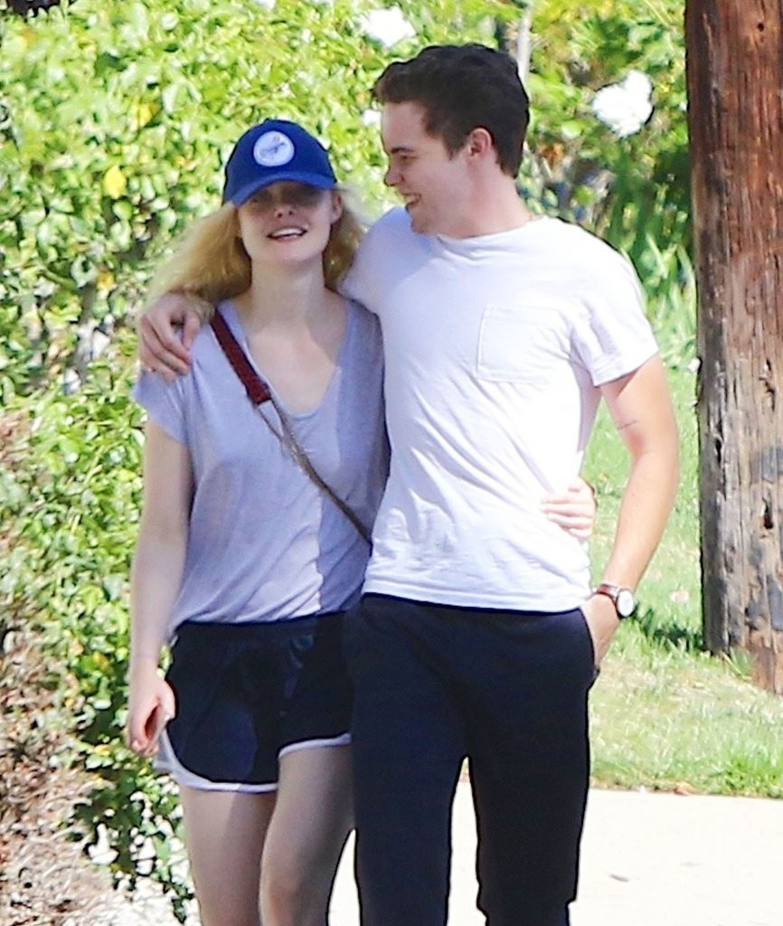Elle Fanning And Boyfriend Elle Fanning in...