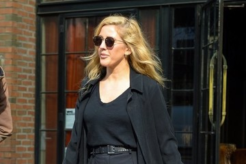 Ellie Goulding Ellie Goulding Leaves to Catch a Flight Out of NYC