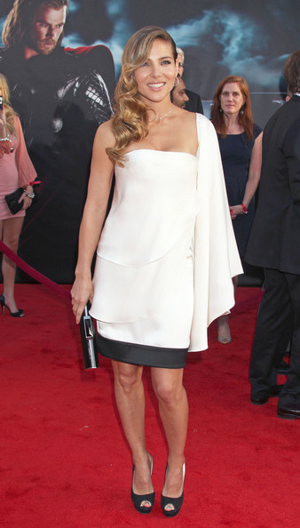 "Elsa Pataky Celebrities attend the ""Thor"" Los Angeles premiere at the El Capitan Theatre in Hollywood."