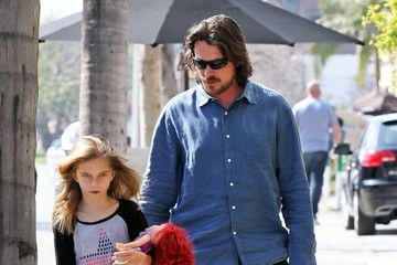 Emmaline Bale Christian Bale And His Family Dine At Kutsuya