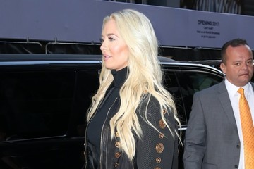 Erika Jayne Celebrites Visit 'Good Morning America' In NYC