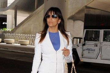 Eva Longoria Eva Longoria Arrives at LAX