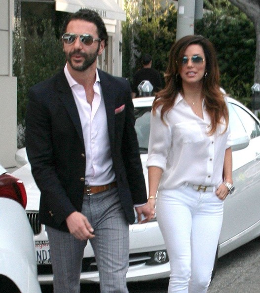 Eva Longoria with Boyfriend Jose Antonio Baston