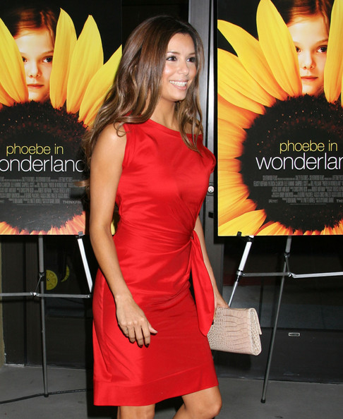 Eva Longoria Parker Stars arrive for Film Independent's special screening of 'Phoebe In Wonderland' at the WGA theatre in Beverly Hills.