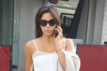 Eva Longoria Eva Longoria Out For Lunch In Hollywood